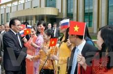 """""""Quan hệ Việt-Nga ngày càng được nâng cao về chất"""""""