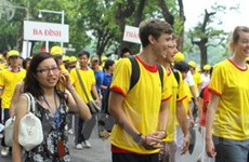 Đi bộ vì cộng đồng ASEAN hòa bình và thịnh vượng