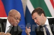 Nga muốn phát triển quan hệ toàn diện với Nam Phi