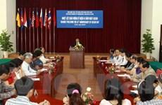 Gặp gỡ nhân kỷ niệm 43 năm thành lập ASEAN