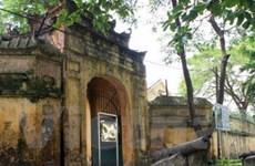 Đồng bộ tiến hành bảo tồn Hoàng thành Thăng Long