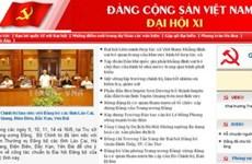 Ra mắt trang thông tin điện tử về Đại hội Đảng XI
