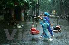 Rãnh áp thấp gây mưa nhiều nơi ở Bắc, Trung Bộ