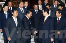 Thủ tướng tiếp đại biểu 10 nước ASEAN dự MACOSA
