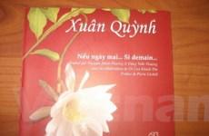 Xuất bản tập thơ Xuân Quỳnh song ngữ Việt-Pháp