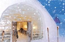 Khách sạn làm từ băng và tuyết mở cửa đầu năm tới