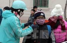 Trên 100.000 học sinh Ninh Bình nghỉ học vì rét