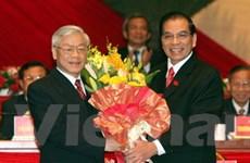 Người dân đón nhận thành công của Đại hội XI