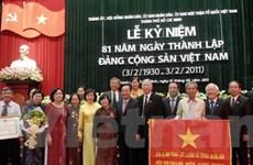 TP.HCM kỷ niệm trọng thể 81 năm thành lập Đảng