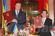 Tuyên bố chung về phát triển hợp tác VN-Ukraine