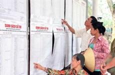 Tiến hành các bước chuẩn bị bầu cử đúng luật định
