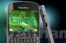 Bing trở thành dịch vụ mặc định của BlackBerry