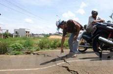"""""""Nứt đất ở Lâm Đồng không phải do hút nước ngầm"""""""