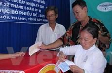 Các địa phương tiếp tục hoàn thành việc bầu cử
