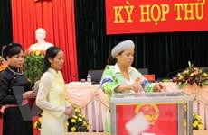 HĐND tỉnh, thành phố bầu các chức danh chủ chốt