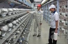 Việt Nam lần đầu sản xuất được xơ sợi polyester