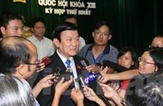 Tiểu sử tóm tắt của Chủ tịch nước Trương Tấn Sang