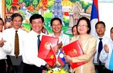 Việt Nam-Lào thúc đẩy quan hệ hợp tác thương mại