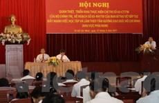 Học tập tấm gương Hồ Chí Minh có ý nghĩa lâu dài