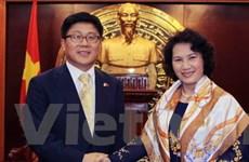 Tăng cường quan hệ hợp tác Việt Nam-Hàn Quốc