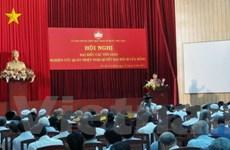 Chức sắc tôn giáo quán triệt Nghị quyết Đại hội XI