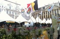 Bỉ: Quảng trường thành quầy bar trong lễ hội bia