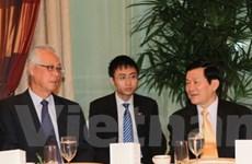 Chủ tịch nước tiếp cựu Thủ tướng Goh Chok Tong