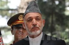 Afghanistan tìm kiếm trợ giúp an ninh của Ấn Độ