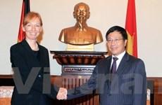 Quốc vụ khanh Bộ Ngoại giao Đức làm việc tại VN