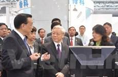 Các hoạt động của Tổng Bí thư tại Trung Quốc