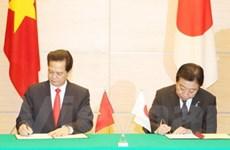 Toàn văn Tuyên bố chung Việt Nam và Nhật Bản