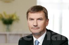 Thủ tướng CH Estonia thăm chính thức Việt Nam