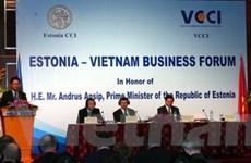 Đẩy mạnh quan hệ kinh tế song phương VN-Estonia