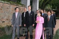Đại Công tước Luxembourg thăm Thừa Thiên-Huế