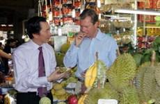Đại Công tước Luxembourg thăm TP. Hồ Chí Minh