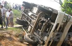 Phú Thọ: Ôtô đâm làm 5 học sinh bị thương nặng