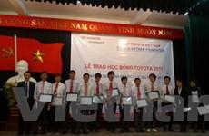 Toyota trao 146 học bổng cho sinh viên xuất sắc