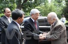 Báo Campuchia tiếp tục đưa tin về Tổng Bí thư