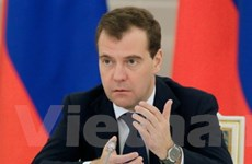 Tổng thống Medvedev phản đối nước ngoài can thiệp