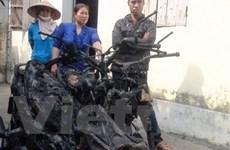 Thêm một chiếc xe Air Blade bốc cháy tại Bắc Ninh
