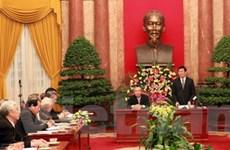 VP Chủ tịch nước phối hợp công tác với Mặt trận