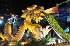 Tưng bừng khai mạc Đường hoa Nguyễn Huệ 2012