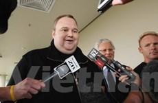 Ông chủ Megaupload được tại ngoại ở New Zealand