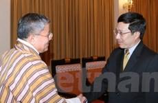 Đặc phái viên của Thủ tướng Bhutan thăm Việt Nam