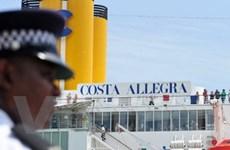 Tàu Costa Allegra bị cháy vào cảng Mahe an toàn