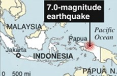 Hai trận động đất cùng xảy ra tại Indonesia, Tonga