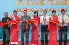 Cần Thơ khánh thành tuyến đường Võ Văn Kiệt