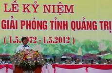 Quảng Trị tưng bừng kỷ niệm 40 năm giải phóng