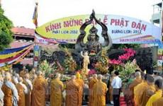 Các địa phương tưng bừng Đại Lễ Phật Đản 2012