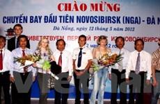Chuyến bay đầu tiên đưa khách Nga đến Đà Nẵng